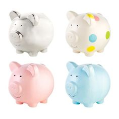 Buy mom a piggy bank, wrap it, and put it with all the gifts.  When mom opens the piggy bank, pass it around and everyone puts whatever money they have on them in the bank.  Then all the money goes to the new mom!  The piggy bank pictured is from Target for $15: Baby Piggy Bank by Pearhead