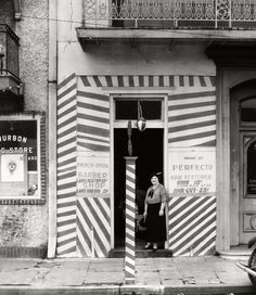 Sidewalk and Shopfront, New Orleans, 1935--Walker Evans
