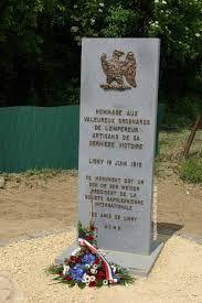 Targa commemorativa francese della battaglia di Ligny