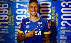 Rafael Marques diz que optou pelo Cruzeiro por 'grandeza' do clube