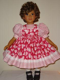 Dress for My Twinn Doll by SewbeitsDollWear on Etsy