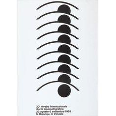 30a mostra internazionale d'arte cinematografica - 23 agosto - 5 settembre 1969 - la Biennale di Venezia-Plakat