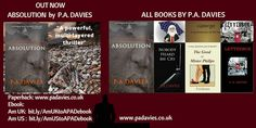 Check out +P A Davies UK Author 's latest novel, the gripping thriller ABSOLUTION which received glowing and enthusiastic reviews! Don't forget to chec... - Bits about Books - Google+