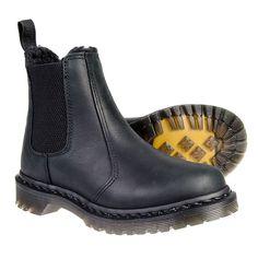Dr Martens Leonore Chelsea Boots (Black)