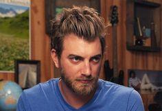Them alluring eyebrows // Rhett McLaughlin