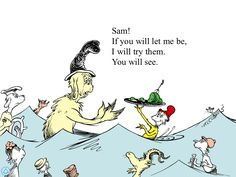 """Bottom Line: The cream of the crop of book apps. A must, must buy """"I like green eggs and ham! I like them, Sam-I-am!"""" I can't think of a children's book I like more than Green Eggs and Ham. Books To Read, My Books, Green Eggs And Ham, Vintage Children's Books, Vintage Kids, Work Inspiration, Book Recommendations, Make You Feel, Childrens Books"""
