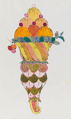 Ice Cream Dessert 1959. On Display TATE LIVERPOOL