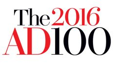 In AD100, Architectural Digest names the world's best architects and designers who are shaping the way we live—one building, one house, one room at a time.