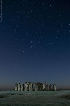 Stone Henge. We went June 2013. It would have been incredible to see at night.