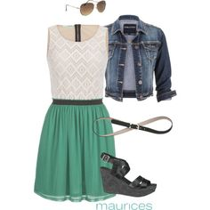 Green with Envy by maurices on Polyvore featuring maurices