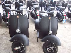 Vespa Black matt