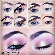 How to Fill and Shape Your Eyebrows Perfectly   Highlights ...
