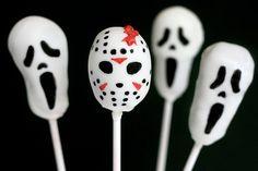 Horror Movie Pops by Bakerella, via Flickr