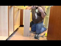 """▶ IKEA Hack: How To Make a 6"""" IKEA Cabinet with Door - YouTube"""