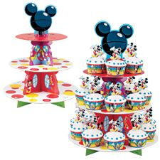 Disney Mickey Mouse Clubhouse Cupcake Stand Kit $10