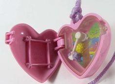 1994 Vintage Polly Pocket McDonald's Locket Bluebird Toys