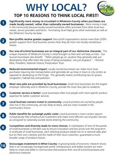 Why Local?  Top 10 Reasons to think local first! #shopsmall #shopsmallAL #ShopLocal 'like' www.facebook.com/SweetArtCandy to find out where you can shop and support Sweet Art Candy
