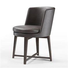 Feel Good Chair - Low Back Wood Base - Flexform - Switch Modern