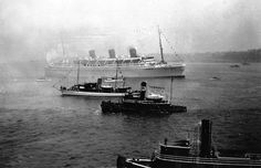 The Maiden Voyage of RMS Queen Mary - May to June 1936 Photos and postcards from the personal album of Jack and Dot Harrison who were on the Maiden Voyage of RMS Queen Mary in 1936.