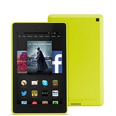 """brilliant Fire HD 6, 6"""" HD Display, Wi-Fi, 8 GB (Citron) - Includes Special Offers Check more at http://www.quanrel.com/products/fire-hd-6-6-hd-display-wi-fi-8-gb-citron-includes-special-offers/"""
