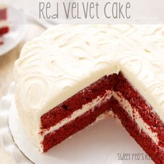 Sweet Pea's Kitchen » Red Velvet Cake with Cream Cheese Frosting
