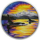 ✯∞ 2017 Canada Animals in Moonlight Orcas 2 oz Silver $30 Coin Proof OGP... http://ebay.to/2uWjJ8U