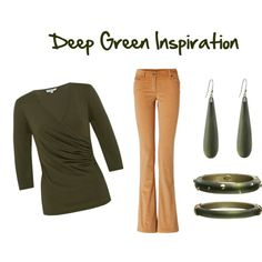 Deep Green Inspiration for Fall