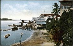 View of the harbor, Mombasa, Kenya, ca. 1900-1914 :: International Mission Photography Archive, ca.1860-ca.1960
