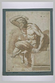 Bartolomeo Ammannati, satyre assis