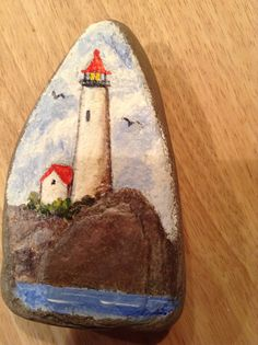Light house rock от IreneKaneArt на Etsy