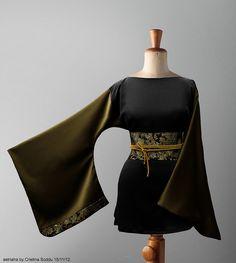 Kimori nero verde e oro by astriaha