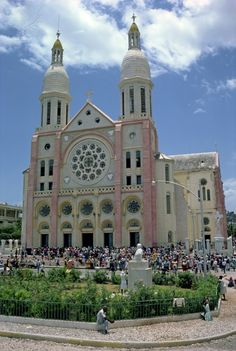 This catholic cathedral is a majestic place in Port-Au-Prince, Haiti.