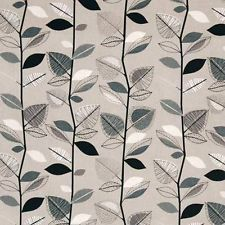 PRESTIGIOUS PUTTY GREY  100/%  cotton fabric curtains blind upholstery material