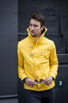 Nautica Fisherman's Jacket : Spring Layering as seen on One Dapper Street | Marcel Floruss