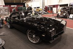 Bad Ass Black Camaro RS SS Resto-Mod @ SEMA Show 2011