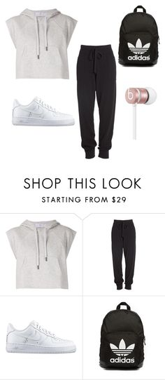 """""""Dance"""" by loidapleg ❤ liked on Polyvore featuring adidas, Donna Karan, NIKE, adidas Originals and Beats by Dr. Dre"""