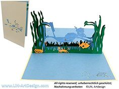 POP UP Grußkarte 3D Grußkarten Glückwunsch Tauchen Lin http://www.amazon.de/dp/B00TZB9YFM/ref=cm_sw_r_pi_dp_RmWtwb105X55F