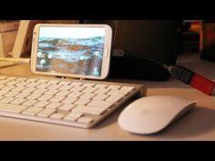 Galaxy Note 2'nin müthiş gücü! iPhone'cular iyi izlesin...
