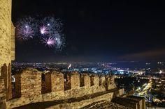 Kastra, Ano Poli, Thessaloniki on New Year's Eve!