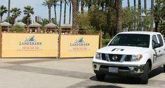 More Banners at Mandalay Bay Pool in Las Vegas