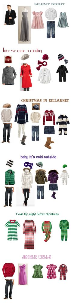 what to wear for christmas photos