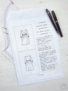 By Hand London, Pattern Names, Fashion Books, Sewing Techniques, Fashion Sketches, Bujo, The Help, Needlework, Cross Stitch