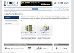 Useful online tools to test how Invoice Finance compares to Overdrafts - DIY for free, with no signing up or obligation.