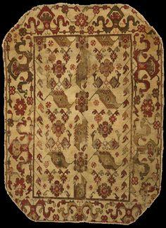 Bird Ushak carpet, XVII th century, Philadelphia Museum of Art. 1955-65-12, The Joseph Lees Williams Memorial Collection  Dimensions: 5 feet 8 inches x 4 feet 2 inches (172.7 x 127 cm)