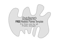 Free Airbrush Stencils Download | FREE REALISTIC FLAMES FREE and FIRE STENCILS AIRBRUSHING TEMPLATES ...