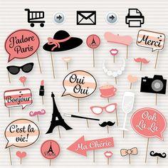 Party in paris Paris Themed Birthday Party, Birthday Party Themes, Spa Birthday, 13th Birthday, Themed Parties, Thema Paris, Paris Bridal Shower, French Bridal Showers, Merci Paris