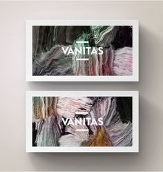 Vanitas Branding by András Berecz, via Behance Graphic Quotes, Graphic Design Typography, Corporate Design, Branding Design, Corporate Identity, Brand Identity, Stationary Branding, Behance, Art Graphique