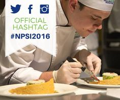The official hashtag for the National ProStart Invitational is #NPSI2016! Please include it when you share photos as you practice and during your state competition. #ProStart #culinarycompetition