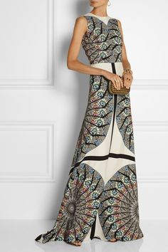 Etro | Embellished printed crepe gown  | $3071 at NET-A-PORTER.COM