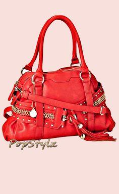 BIG BUDDHA Jeryn Satchel Handbag